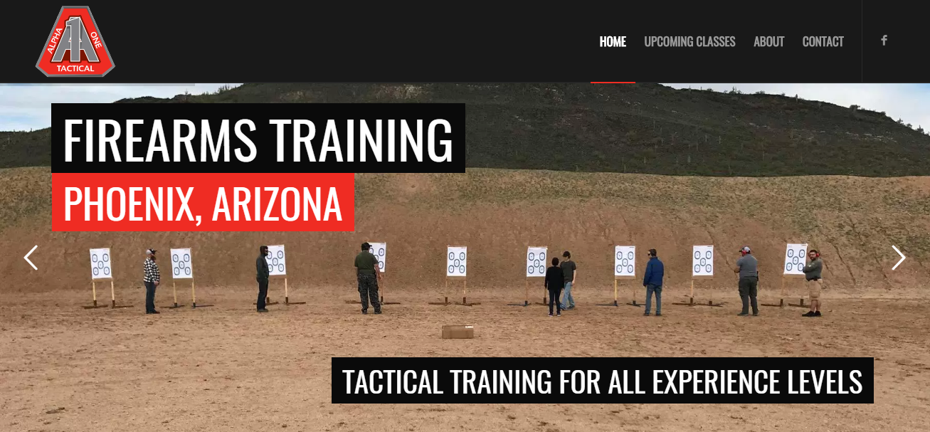 Tactical Firearms Training in Phoenix, AZ – Alpha1 Tactical